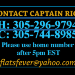 Captain Rick's contact information.
