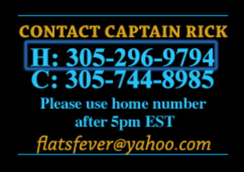 Captain Rick's contact information